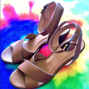 NWT Ankle Strap Heels